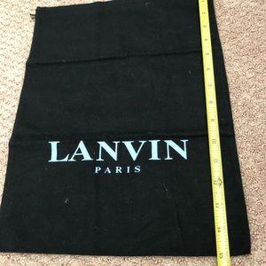 Lanvin dust bag